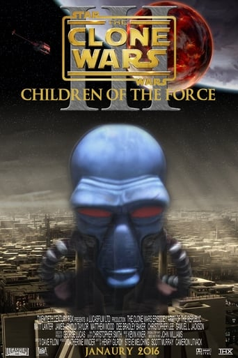 Poster of Clone Wars: Episode III - Children of the Force