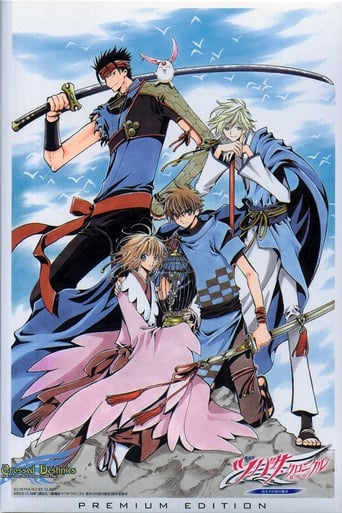 Poster of Tsubasa Chronicle The Movie: The Princess in the Birdcage Kingdom