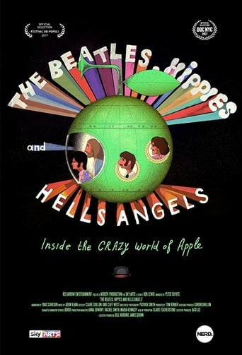 Poster of The Beatles, Hippies & Hells Angels: Inside the Crazy World of Apple