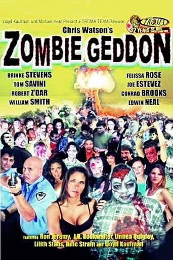 Poster of Zombiegeddon