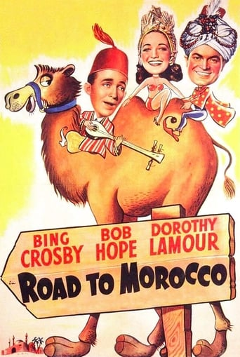Poster of Road to Morocco