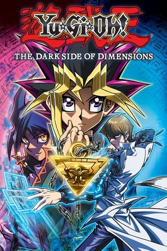 Poster of Yu-Gi-Oh!: The Dark Side of Dimensions