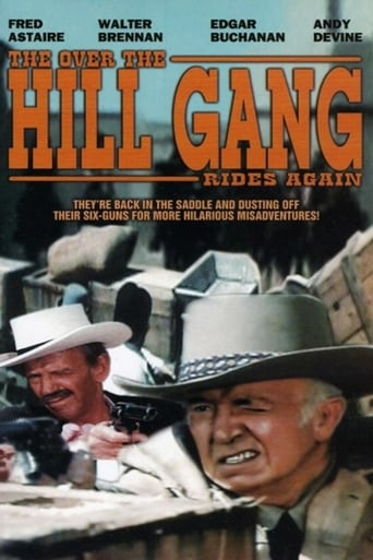Poster of The Over-the-Hill Gang Rides Again