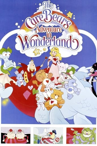 Poster of The Care Bears Adventure in Wonderland
