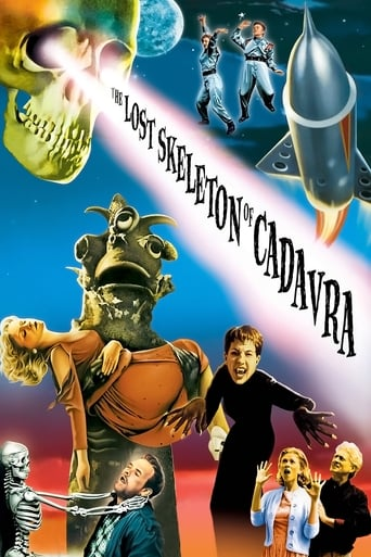 Poster of The Lost Skeleton of Cadavra