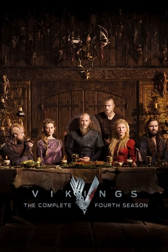 How old was Gustaf Skarsgård in season 4 of Vikings