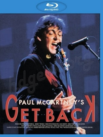 Poster of Paul McCartney's Get Back, Live