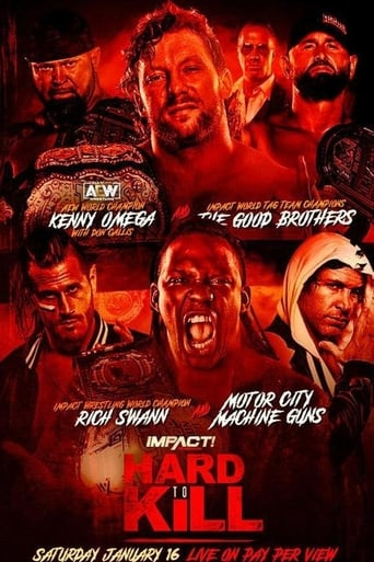 Poster of IMPACT Wrestling Hard to Kill 2021