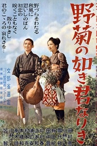 Poster of 野菊の如き君なりき