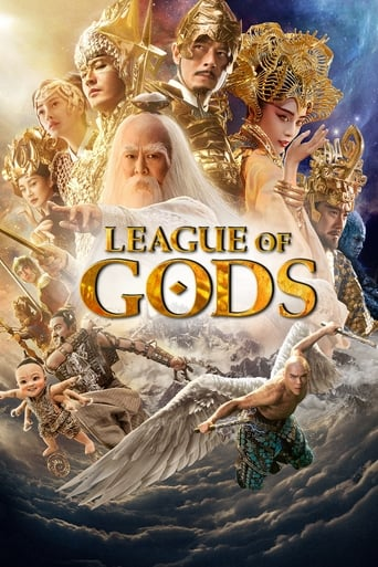 Poster of League of Gods