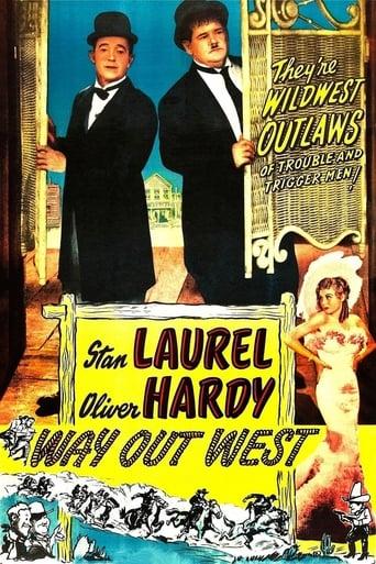 Poster of Laurel y Hardy en el Oeste