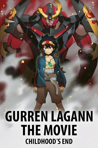 Poster of Gurren Lagann The Movie: Childhood's End