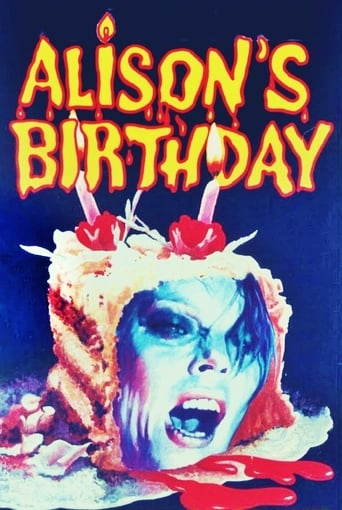 Poster of Alison's Birthday