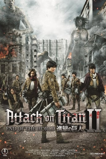 Filmplakat von Attack on Titan 2: End of the World