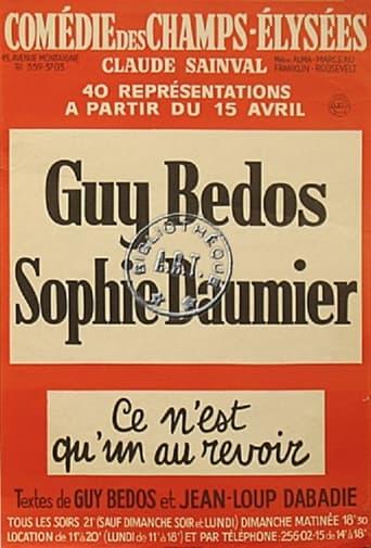 Poster of GUY BEDOS & SOPHIE DAUMIER - CE N'EST QU'UN AU REVOIR