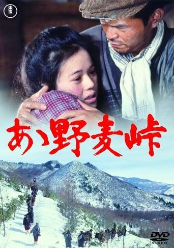 Poster of Nomugi Pass