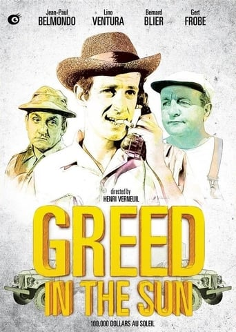 Poster of Greed in the Sun