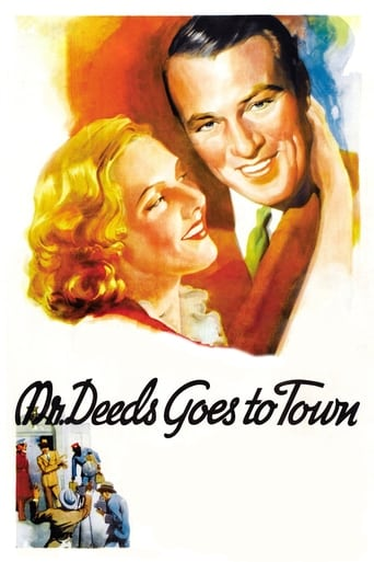 Poster of Mr. Deeds Goes to Town