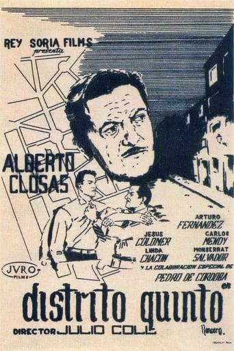 Poster of Distrito Quinto