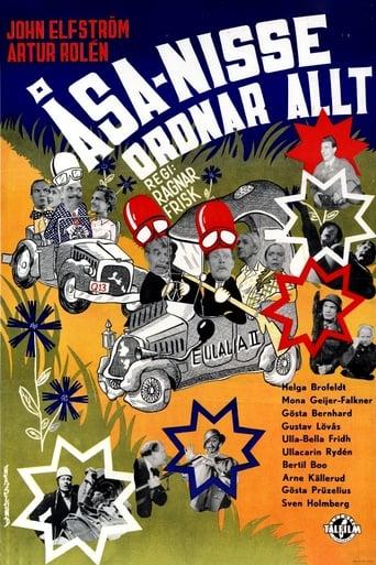 Poster of Åsa-Nisse ordnar allt