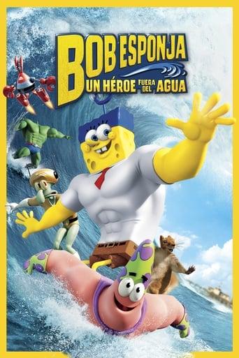 Poster of Bob Esponja: Un héroe fuera del agua