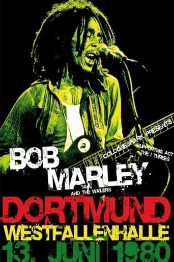 Poster of Bob Marley & The Wailers - Live In Dortmund Germany 1980