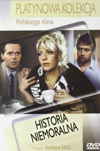 Poster of Historia niemoralna