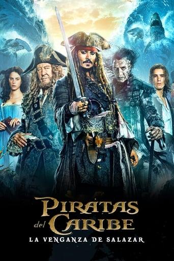 Poster of Piratas del Caribe: La venganza de Salazar