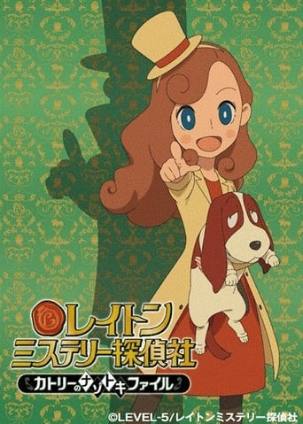 Poster of Layton Mystery Detective Agency: Kat's Mystery‑Solving Files
