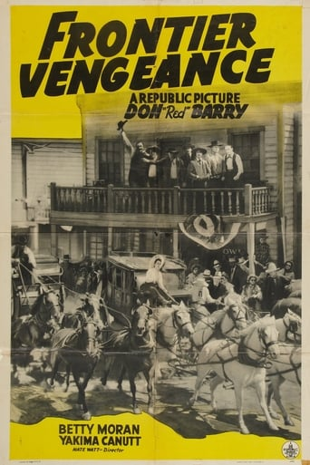 Poster of Frontier Vengeance
