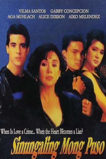 Poster of Sinungaling Mong Puso