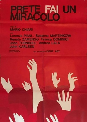 Poster of Prete, fai un miracolo