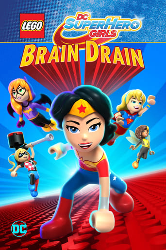 LEGO DC Super Hero Girls: Brain Drain poster