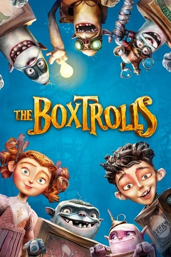 Poster of The Boxtrolls