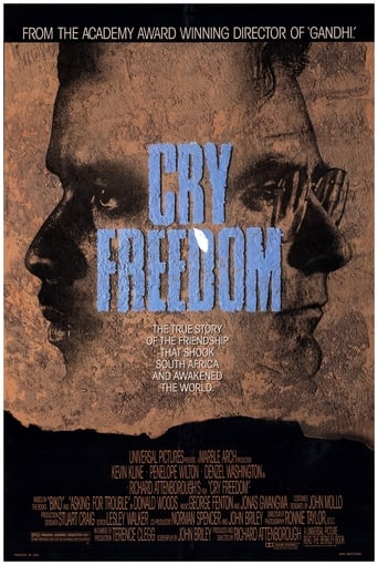 Poster of Cry Freedom