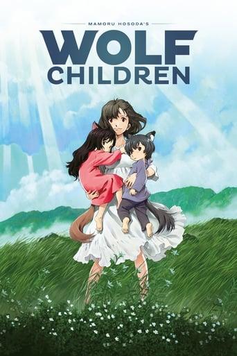 Poster of Wolf Children