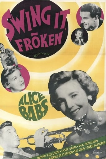 Poster of Swing it, fröken