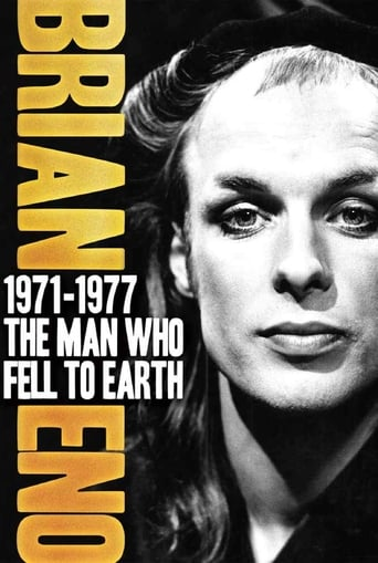 Poster of Brian Eno 1971–1977: The Man Who Fell To Earth