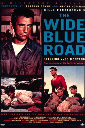 Poster of The Wide Blue Road