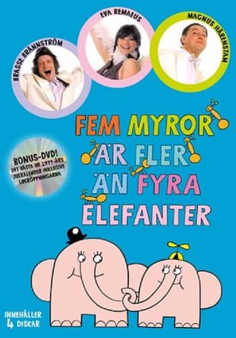 Poster of Fem myror är fler än fyra elefanter (julkalender)