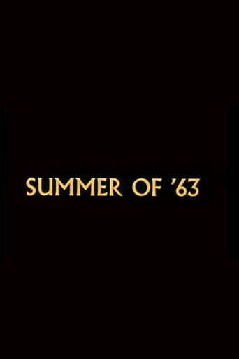 Poster of Summer of '63