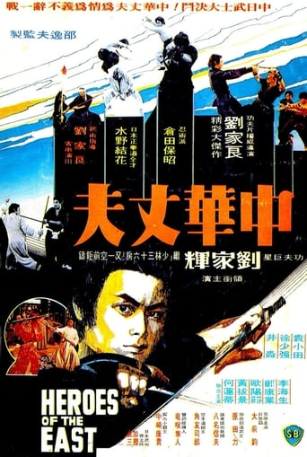 Poster of Heroes of the East