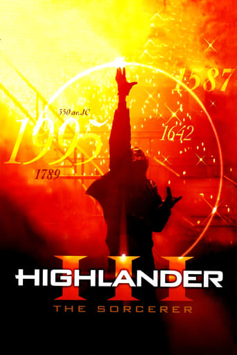 Poster of Highlander III: The Sorcerer