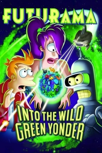 Poster of Futurama: Into the Wild Green Yonder