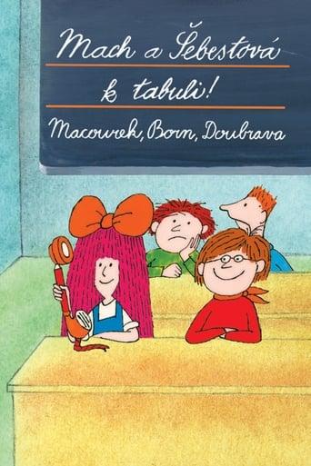 Poster of Mach a Šebestová k tabuli!
