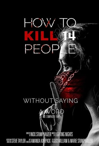 Poster of How to Kill 14 People Without Saying a Word