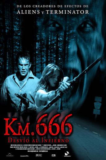 Poster of Km. 666 (Desvío al infierno)