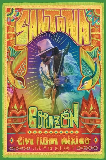 Poster of Santana: Corazón Live from Mexico (Live It To Believe It)