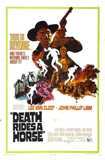 Poster of Death Rides a Horse