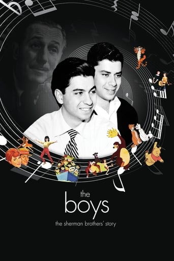 Poster of The Boys: The Sherman Brothers' Story